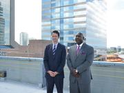 Downtown Investment Authority Chairman Oliver Barakat and CEO Aundra Wallace are being encouraged by a growing number of young professionals as the DIA works on its redevelopment plans for the area.