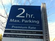 Berkeley has been experimenting with variable parking rates in different bits of the city.
