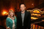 Jill Witecki with Tampa Theatre and David Capece, CEO of Sparxoo, worked closely on the theater's rebrand.