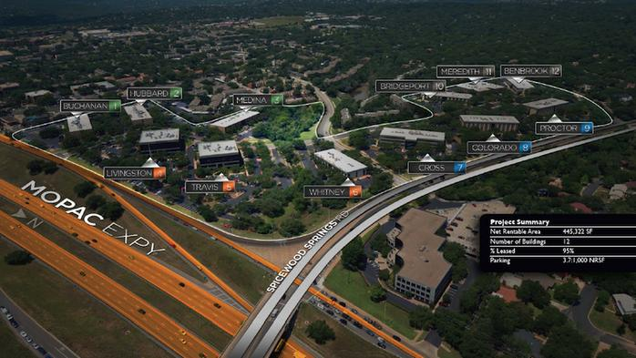 Transformation of Austin office park into mixed-use center moves closer to happening