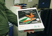 The Timbers have committed to using as many recycled and repurposed office goods as possible. The team won a $5,000 drawing for an Office Depot gift card  that the office supply company designated for environmental products purchases.