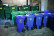 As they seek to boost their sustainable programs, the Portland Timbers hope to divert more waste from landfills in coming years. Jeld-Wen field workers currently divert 80 percent of all waste from landfills during all events, soccer or otherwise. The number is expected to reach 90 percent. Jeld-Wen attendants make three sweeps through the stadium after each game. During the first, they collect compostable and recycled materials. During the second, they collect refuse for landfills. During the last sweep, they do the heavy-duty post-event cleaning.