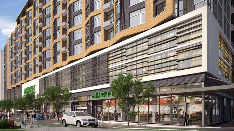 A Rendering Of The Whole Foods At Agora Opens 9 M On
