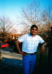 A photo of Islam while he attended Ohio University.