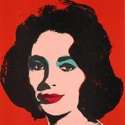This Andy Warhol portrait of actress Elizabeth Taylor will be featured at POP International Galleries in SoHo.