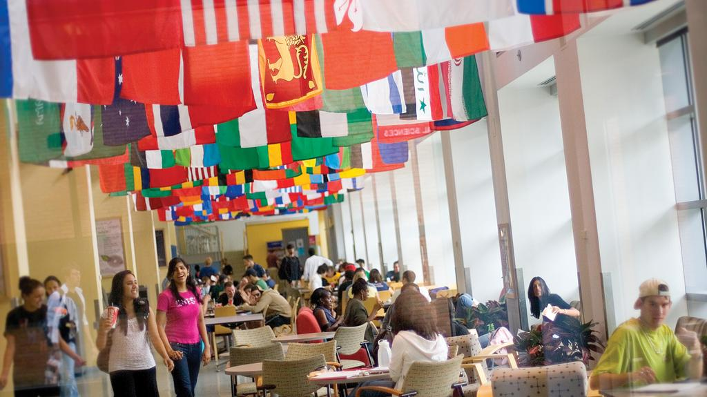 University of Baltimore hit by trend of falling foreign enrollments
