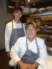 Donald Chang, Nara owner and executive chef, with sister and head kitchen chef, Esther Cho