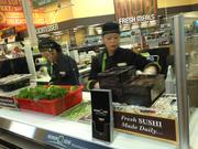 Twenty varieties of sushi will be made daily.