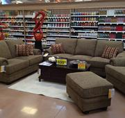 Kroger has an exclusive partnership with Jacksonville, Fla.-based Ashley Furniture. Customers can also buy dining furniture as well as decorative accessories.