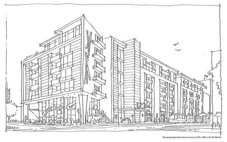 sj apartment boom  proposals target key downtown sj