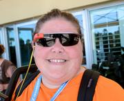 And speaking of Indie Cinema Showcase, field producer Jen Vargas was on hand with Google Glass in tow.