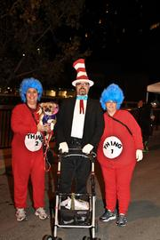 Thing 1, Thing 2 and Dr. Suess.