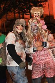 Zombie family.