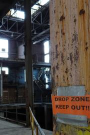 A look into the Bailey Power Plant's main room from the second floor. Wake Forest Innovations is seeking a developer that could repurpose the former coal-fired plant as an entertainment center, with restaurants, performance venues and other amenities.