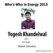 Who's Who in Energy 2013: Yogesh Khandelwal
