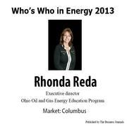 Who's Who in Energy 2013: Rhonda Reda (Columbus)