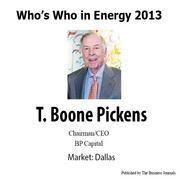 Who's Who in Energy 2013: T. Boone Pickens (Dallas)