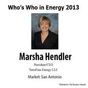 Who's Who in Energy 2013: Marsha Hendler (San Antonio)