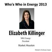 Who's Who in Energy 2013: Elizabeth Killinger (Houston)