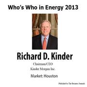 Who's Who in Energy 2013: Richard D. Kinder (Houston)