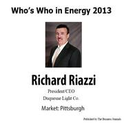 Who's Who in Energy 2013: Richard Riazzi (Pittsburgh)