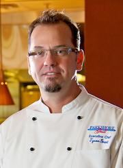 Tyson Grant is executive chef of Parkshore Grill. The downtown St. Petersburg restaurant is in its sixth year.