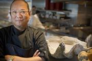 """The star of """"Iron Chef"""" and """"Iron Chef America,"""" Masaharu Morimoto integrates Western and Japanese ingredients in his dishes."""