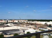 From the roof of 5000 Town, a view of the Nordstrom Inc. department store under construction.