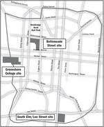 Does S. Elm St. hold the edge to host downtown university campus?