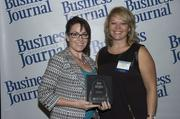 2013 Health Care Hero recipient Dr. Beth Kailes and Dr. Dawn Emerick of the Health Planning Council.
