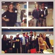 VML employees show off their Halloween costumes at work.