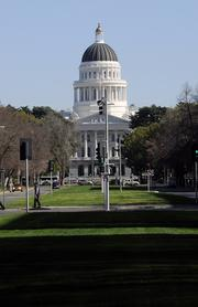The Capitol building anchors the west end of Capitol Mall and sets its tone as a premier office location.