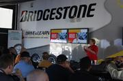Michelle Sloan, product programs specialist at Bridgestone Americas Tire Operations, discusses a comparison with the dealers of the tires.