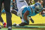 Carolina Panthers top Niners, set TV benchmark