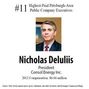 The highest-paid Pittsburgh-area public company executives.