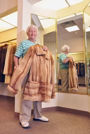 Jeanne Carmel, owner of Beck Furs in Stuyvesant Plaza in Guilderland, NY.