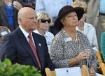 Huizengas celebrate topping out of new pavilion at Broward Center -- slideshow