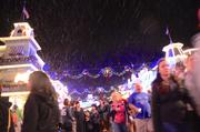 If you're wondering if it was real snow, I'm wondering if you know exactly where Disney World is located.