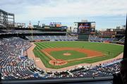 Turner Field, the current home of the Braves.