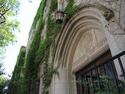 A Northwestern University School of Law building.