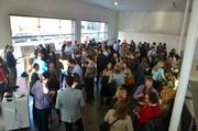 About 100 people filled the Raleigh Contemporary Art Museum to find out more from McIntyre and Whittaker.