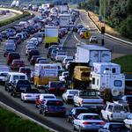 Highway projects now won't run out of gas until August
