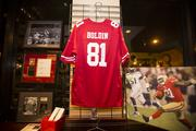 Boldin's friends and the 49ers donated memorabilia to be auctioned off to benefit Boldin's foundation.