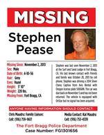 Restaurant developer last seen in Fort Bragg