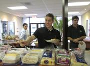 Bioformix Inc. provides lunch each day for employees.