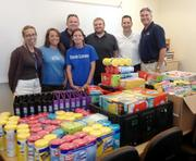 Bridge Logistics Inc. collects school supplies to donate to area students.