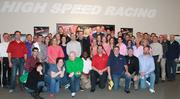 Colliers International employees enjoy a day out at Full Throttle go-kart racing.