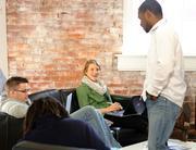 Workers at Dotloop enjoy an open-office environment.
