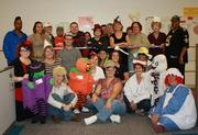 ExpressScripts employees go all out for Halloween.