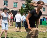 Gardner Business Media employees take their fun outdoors.